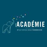 LogoFondBleu-Lacademie-RVB